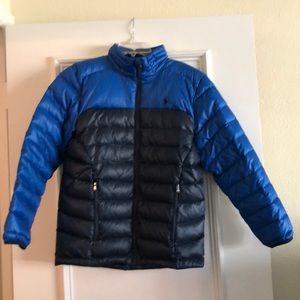 Boys Ralph Lauren Puffer Down Coat Size L (14-16)
